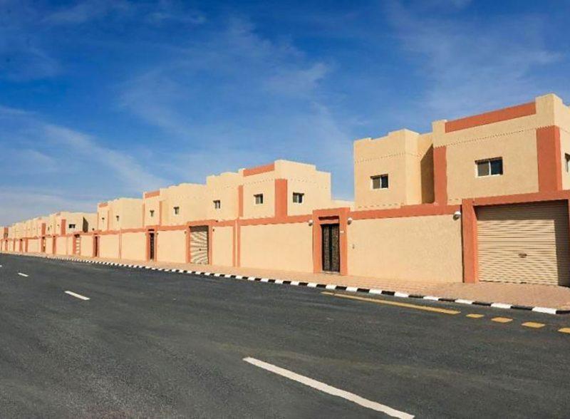 إنشاء المدينة السكنية (المرحلة الرابعة) بمنفذ بطحاء
