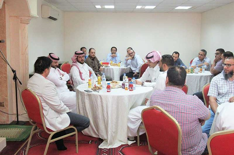 احتفال مكتب الشبانات للاستشارات الهندسية بالعيد الأضحى المبارك