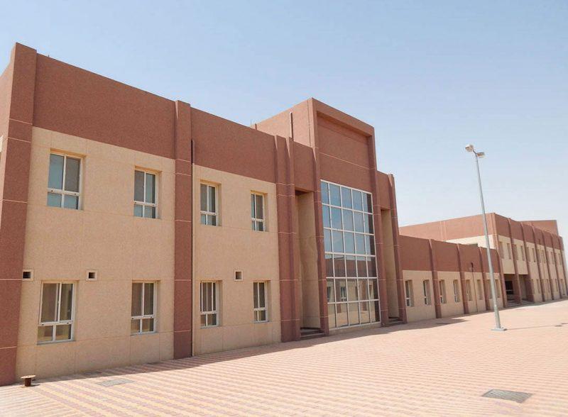 مشروع إنشاء المجمع الإداري بمنفذ البطحاء