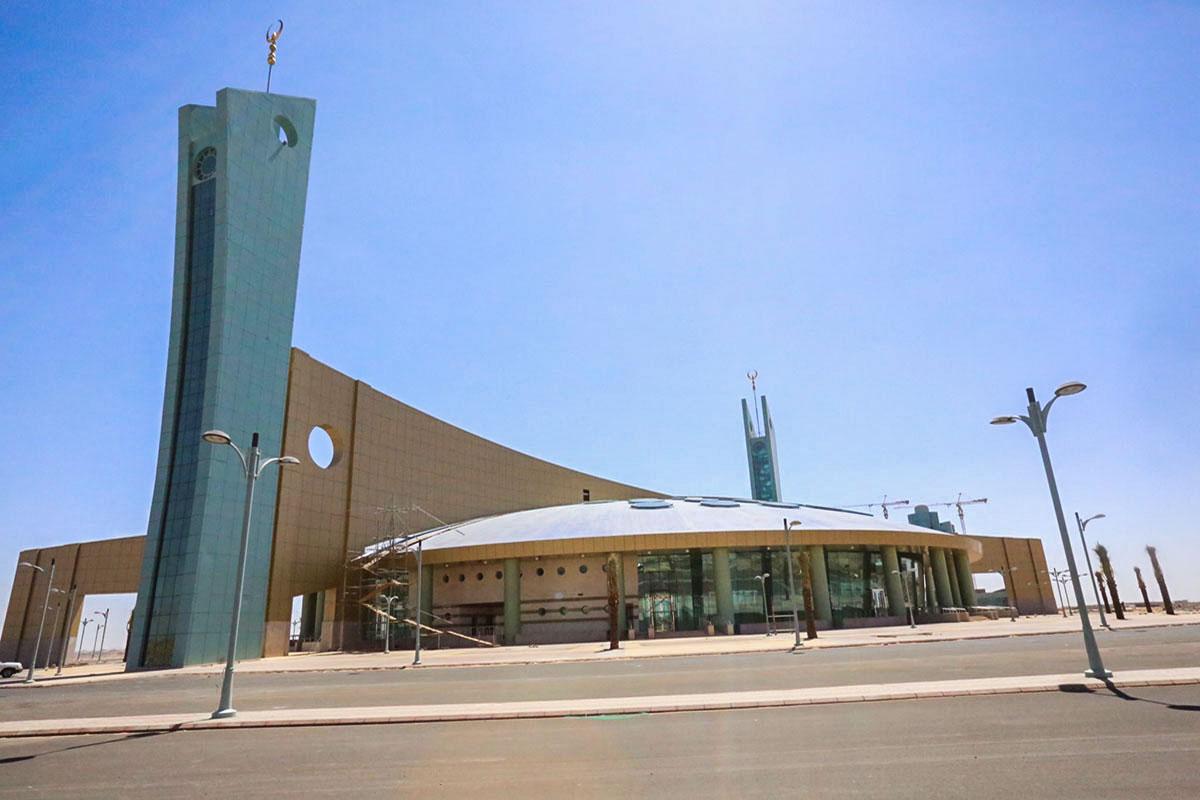 المسجد الجامع بجامعة تبوك