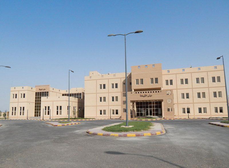 تصميم مباني حرس الحدود بمنفذ البطحاء