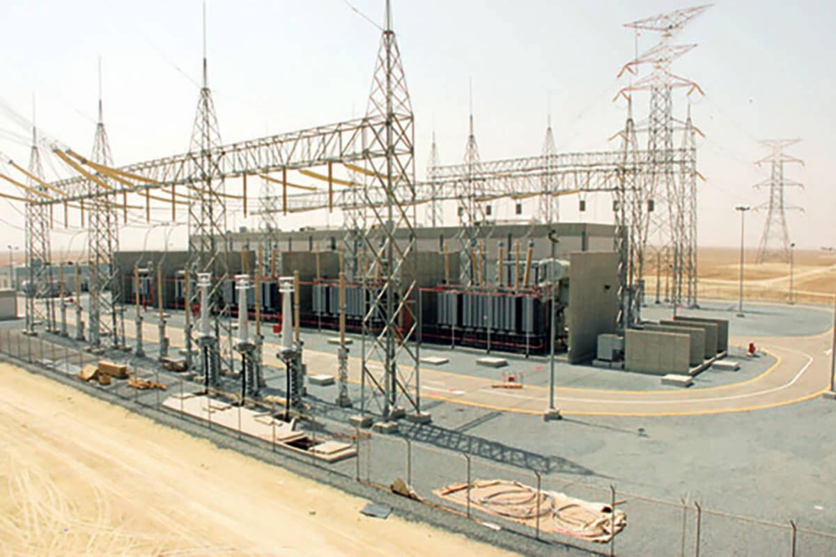 تنفيذ خطوط توزيع الطاقة الكهربائية بحدود البطحاء