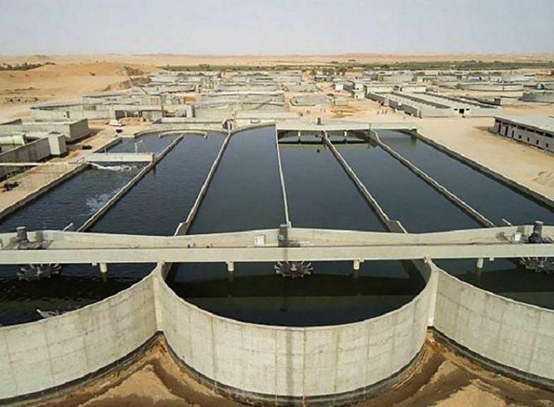 مشروع استبدال شبكات مياه بحدود الخفجي